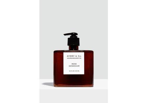 Aydry & Co. Rose Geranium Nourishing Body Oil