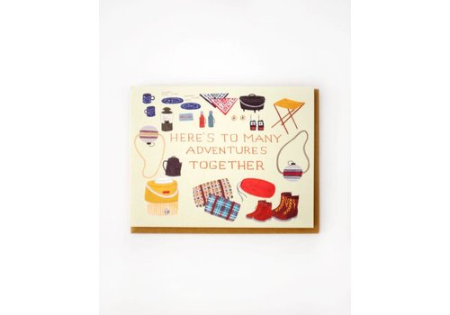 Small Adventure Adventures Together Card