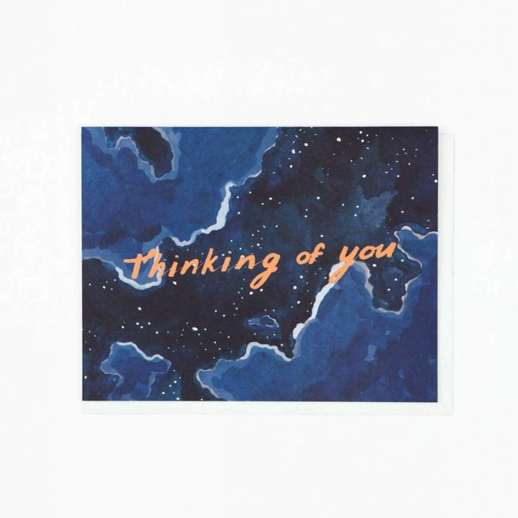 Small Adventure Thinking Of You Night Sky Card