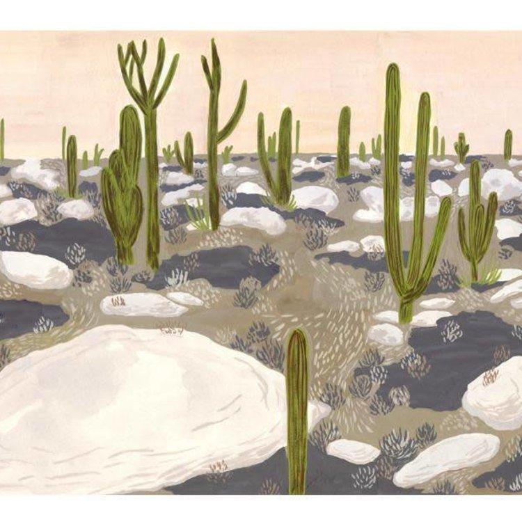 Small Adventure Desert Art Print