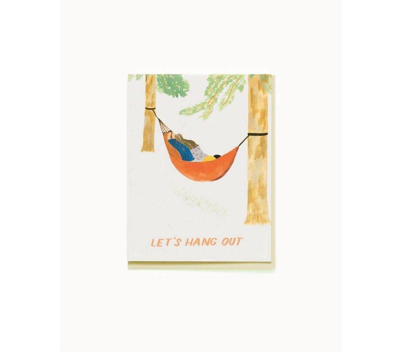 Hammock Hang Out Card
