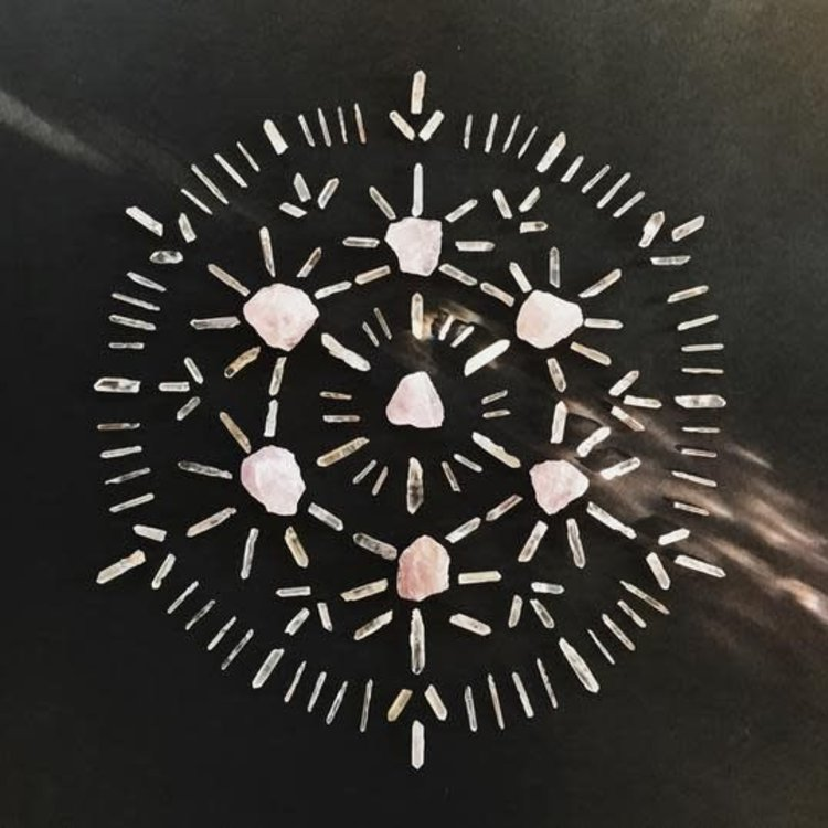 Almanac Supply Co Love Crystal Grid Kit
