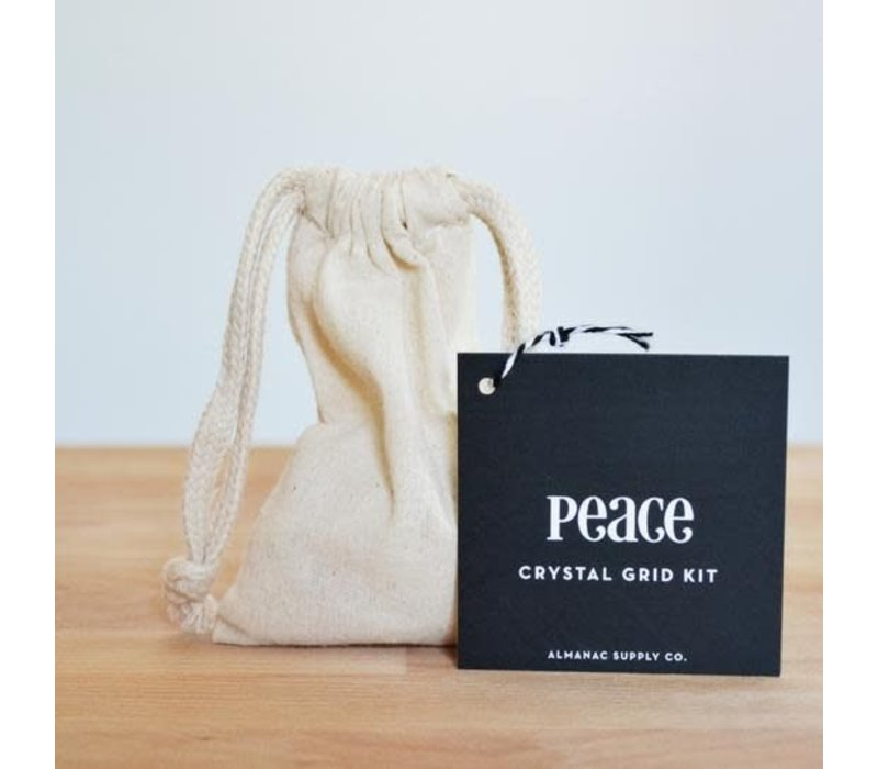 Peace Crystal Grid Kit