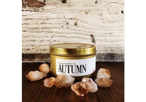 Almanac Supply Co Autumn Soy Candle Tin
