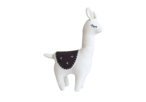 Creative Co-op Cozy Llama Toy