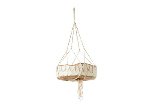 Creative Co-op Macrame Plant Hanger - Small- 27 inch