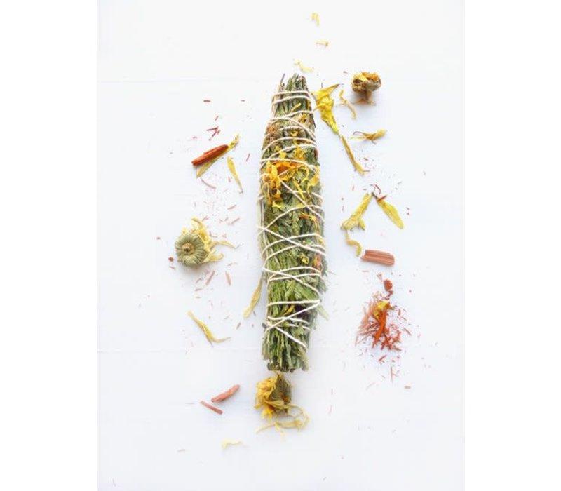 Holy Smoke Smudge Stick - Sweetgrass & Sandalwood