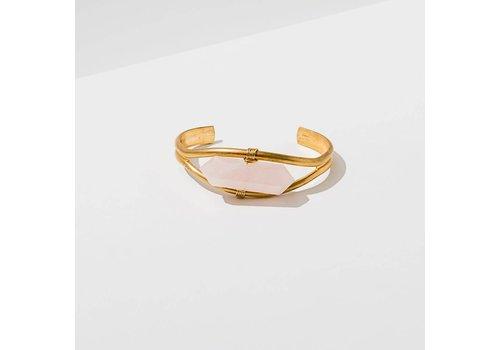 Larissa Loden Crystal Cuff Bracelet