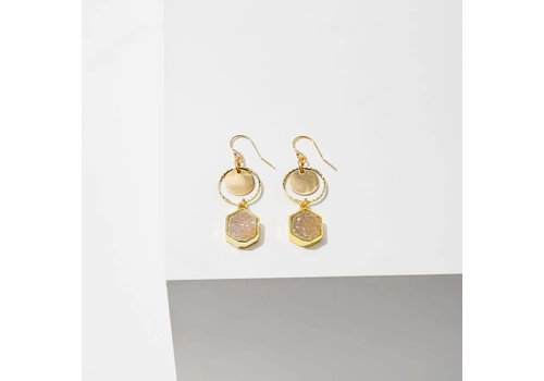 Larissa Loden Sibyl Drusy Earrings