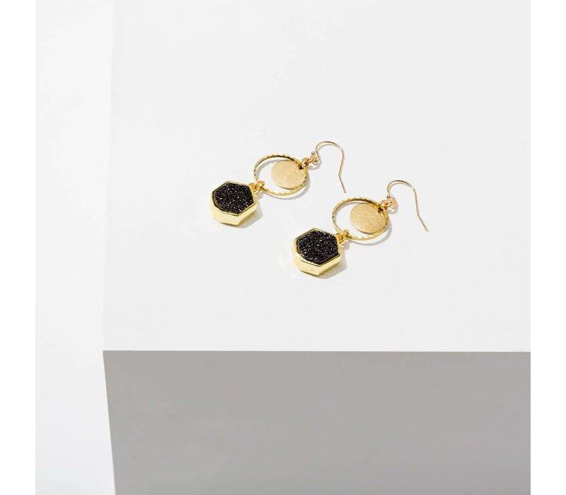 Sibyl Drusy Earrings