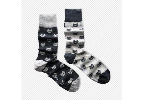 Friday Sock Co. Cats Mismatch Socks