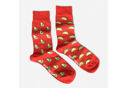 Friday Sock Co. Tacos! Mismatch Socks