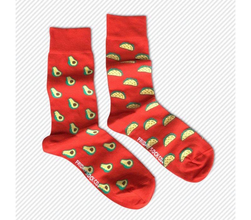 Tacos! Mismatch Socks