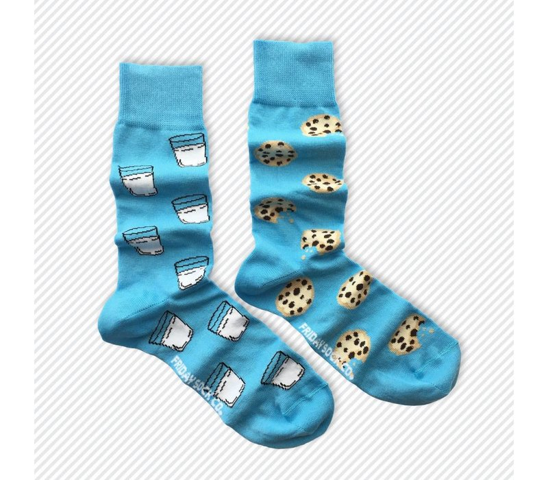 Milk & Cookies Mismatch Socks
