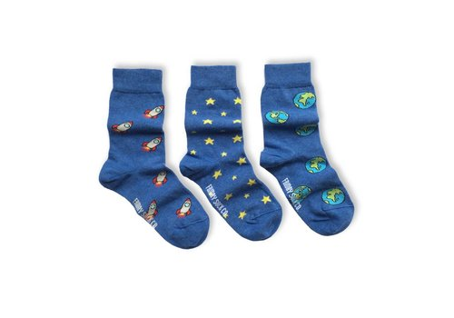 Friday Sock Co. Space Mismatch Kids Socks