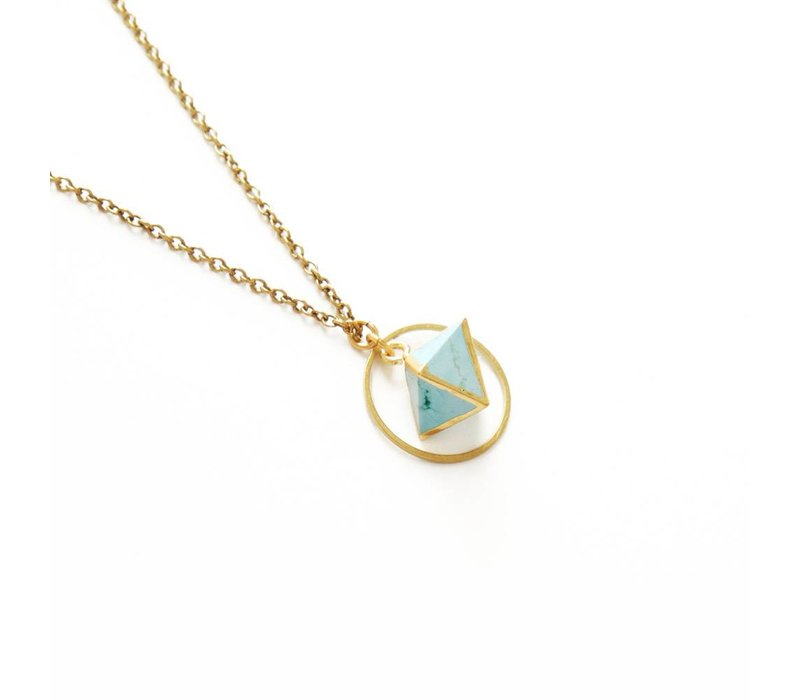 Orb Necklace - Turquoise