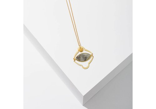 Larissa Loden All Seeing Eye Necklace