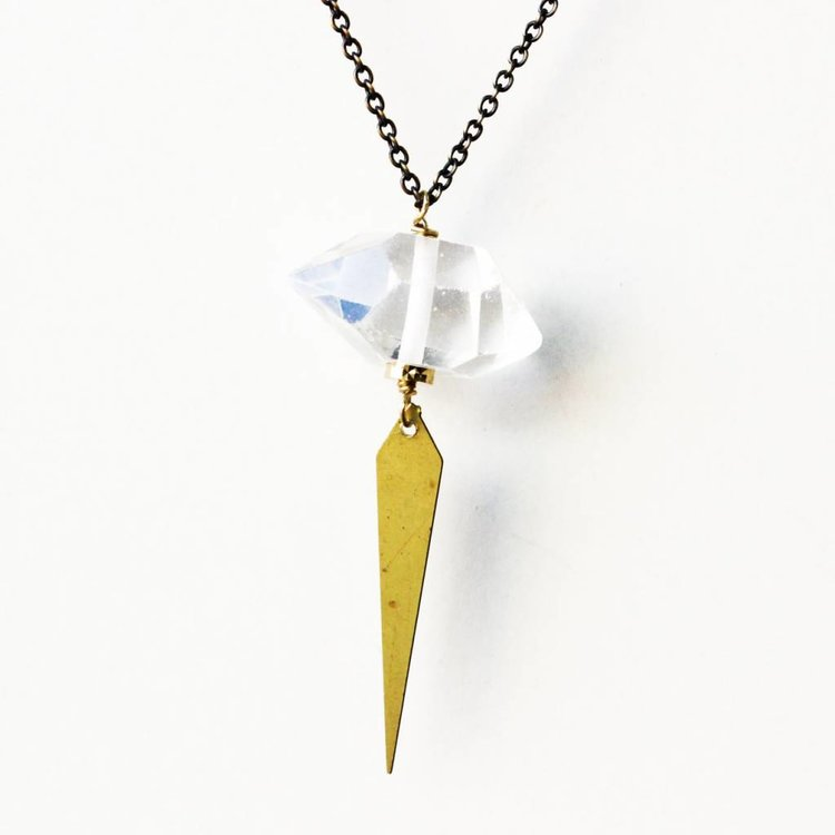 Larissa Loden Crystal Angles Necklace