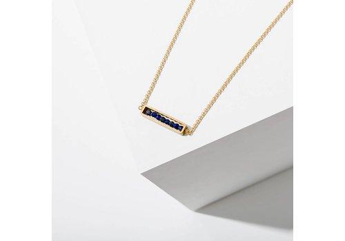 Larissa Loden Abacus Necklace Lapis