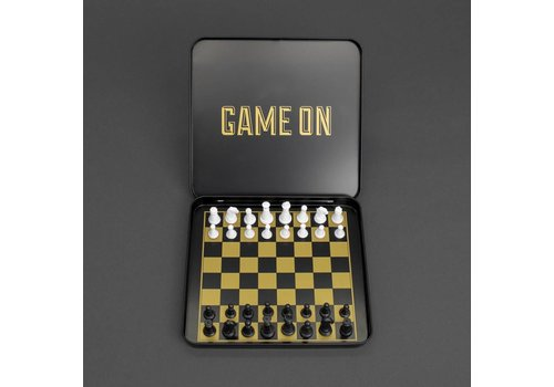 Iron & Glory Game On Magnetic Mini Travel Chess Set