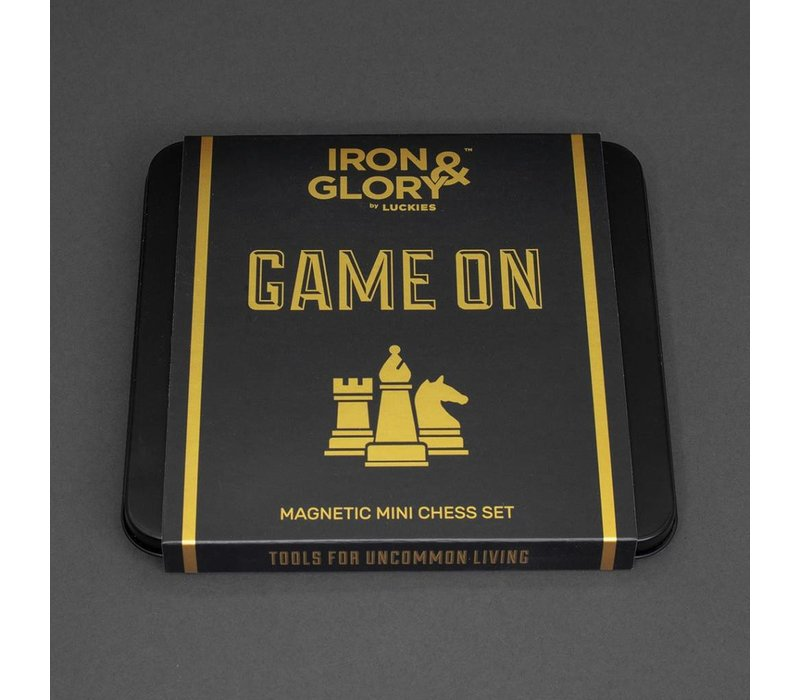 Game On Magnetic Mini Travel Chess Set