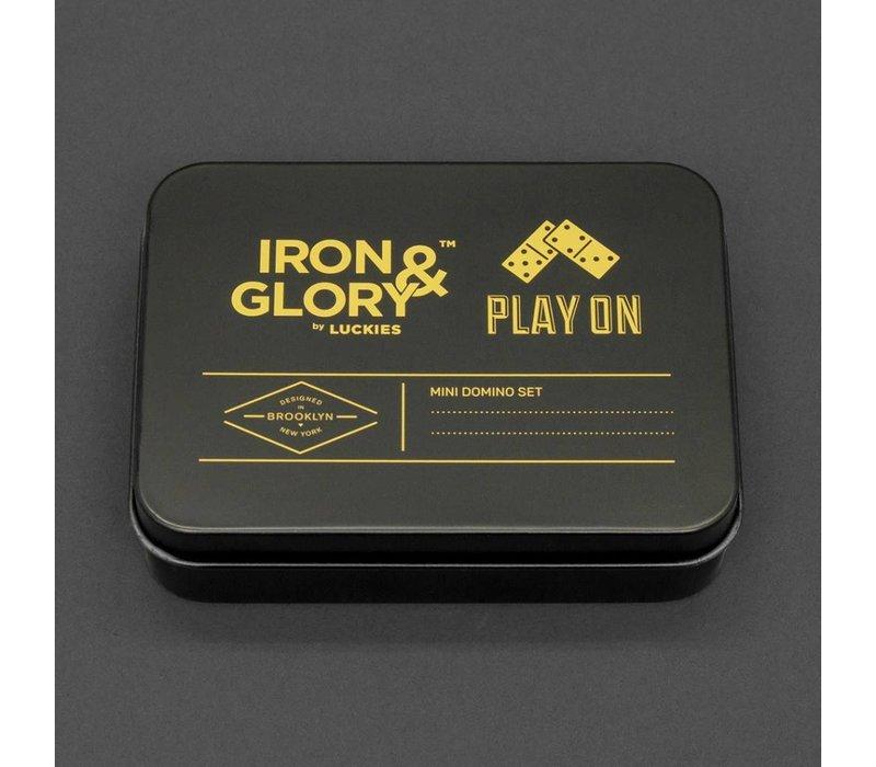Play On Mini Travel Domino Set