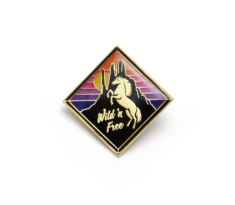 Mustang Enamel Pin