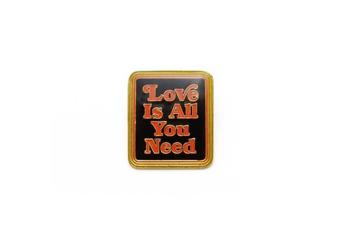 Lucky Horse Press Love Is All You Need Enamel Pin