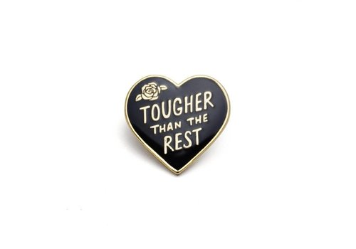 Lucky Horse Press Tough Heart Enamel Pin