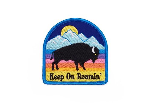 Lucky Horse Press Bison Embroidered Patch