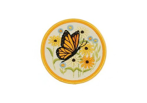 Lucky Horse Press Butterfly Embroidered Patch
