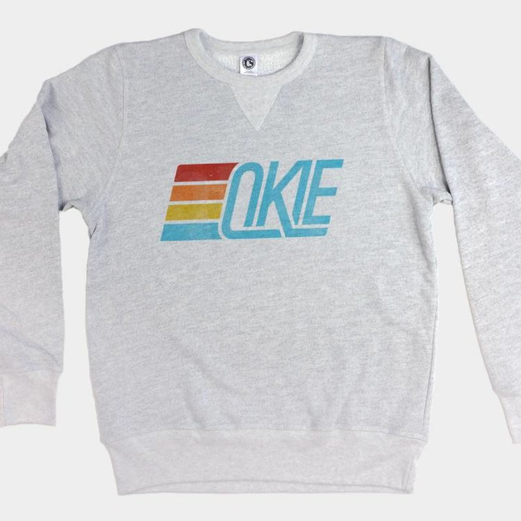 Shop Good Okie Track Pullover Sweatshirt