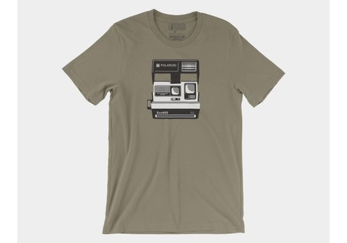 Shop Good Polaroid Sun 600 Tee Army