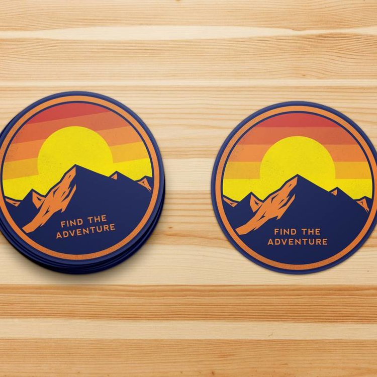 Shop Good Find the Adventure Sticker