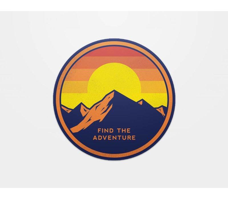 Find the Adventure Sticker