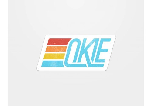 Shop Good Okie Track Sticker