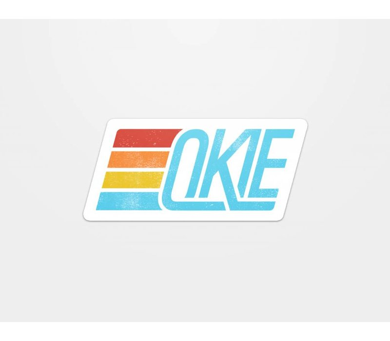 Okie Track Sticker