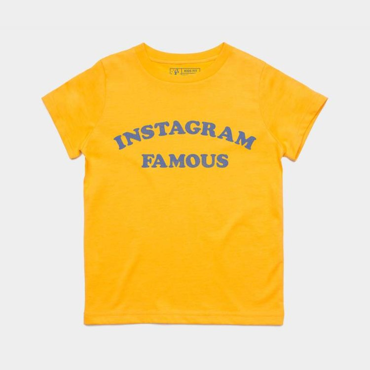 Shop Good Instagram Famous Kids Tee