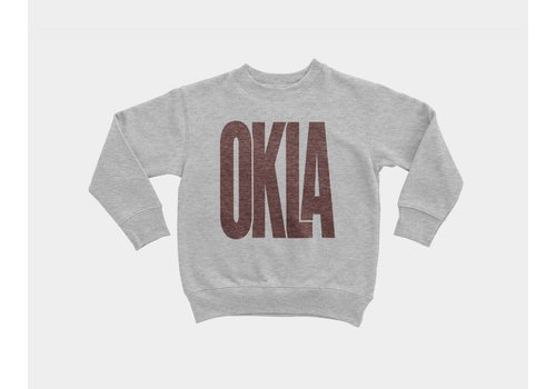 Shop Good Sunny Oklahoma Kids Pullover Heather