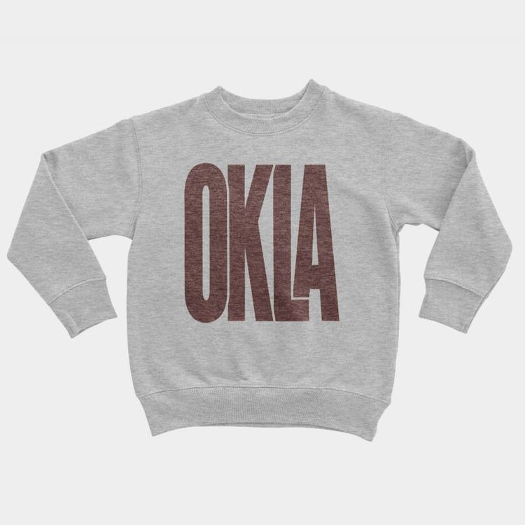 Shop Good Sunny Oklahoma Kids Pullover
