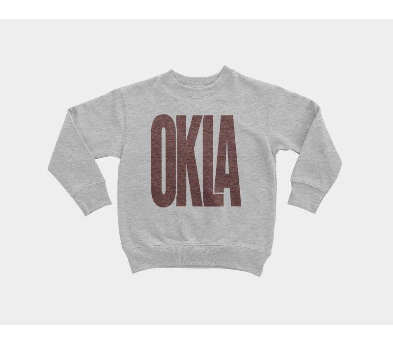 Sunny Oklahoma Kids Pullover