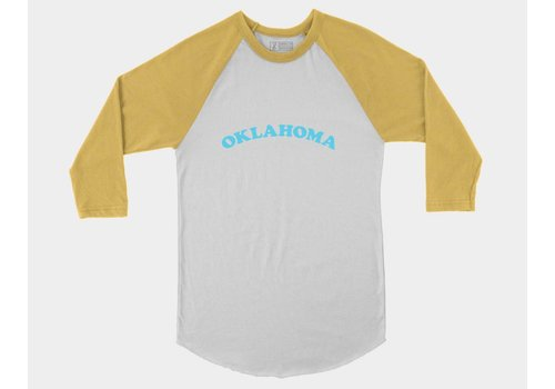 Shop Good Oklahoma Throwback Baseball Tee Fruity Pebbles