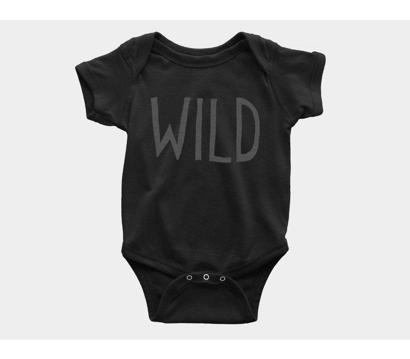 Wild Kids Onesie Black