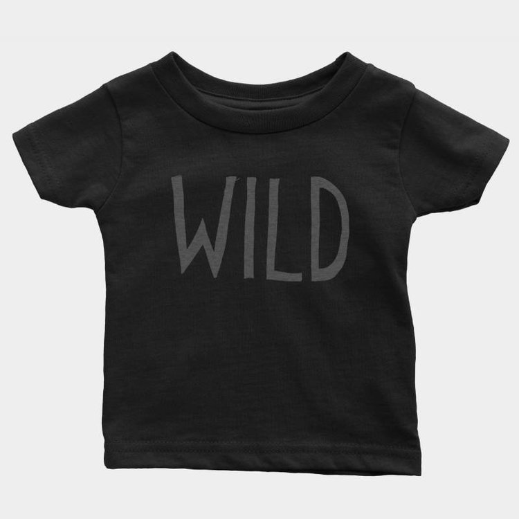 Shop Good Wild Kids Tee Black