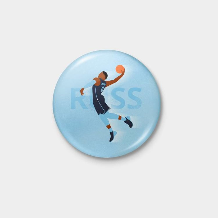 Shop Good Thunder Icon Russ Pinback Button