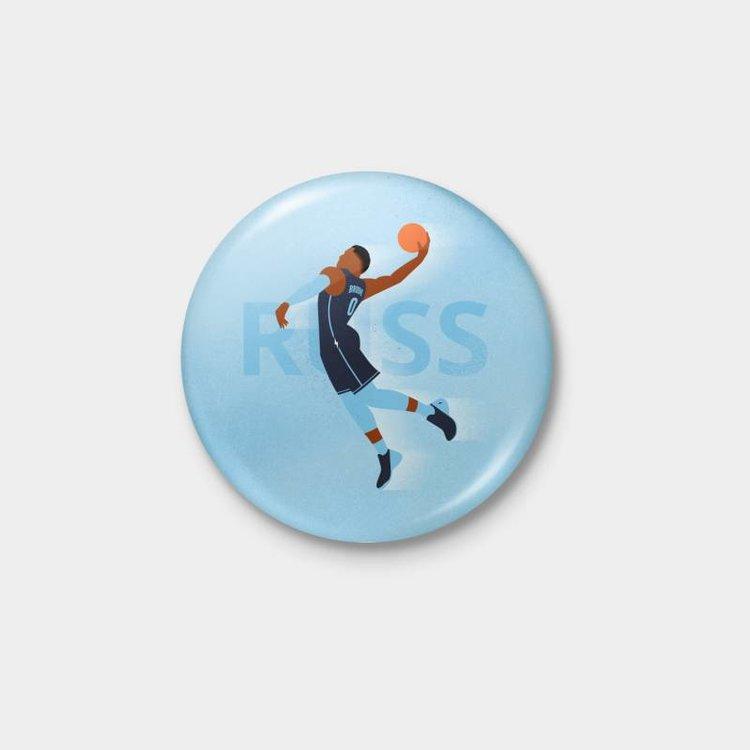 Shop Good Thunder Icon Russ Pinback Button