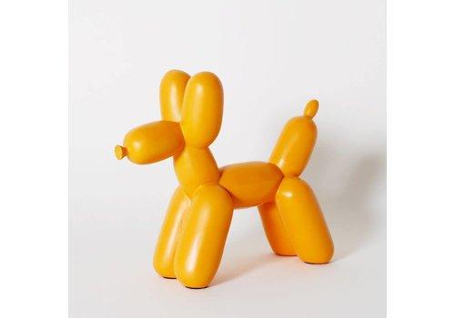 Imm Living Ceramic Balloon Dog Bookend Orange