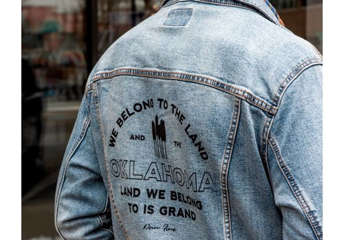Shop Good We Belong To Oklahoma Unisex Denim Jacket