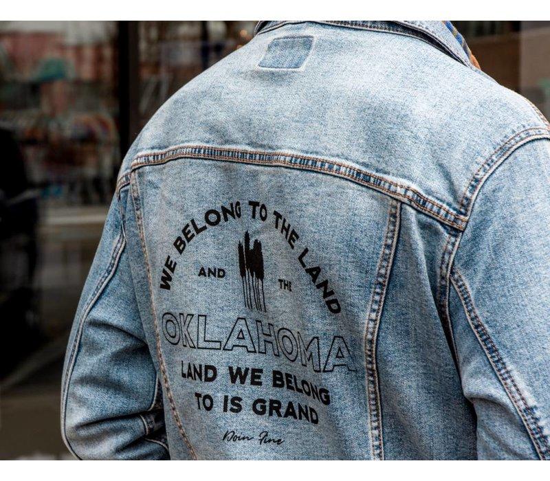We Belong To Oklahoma Unisex Denim Jacket