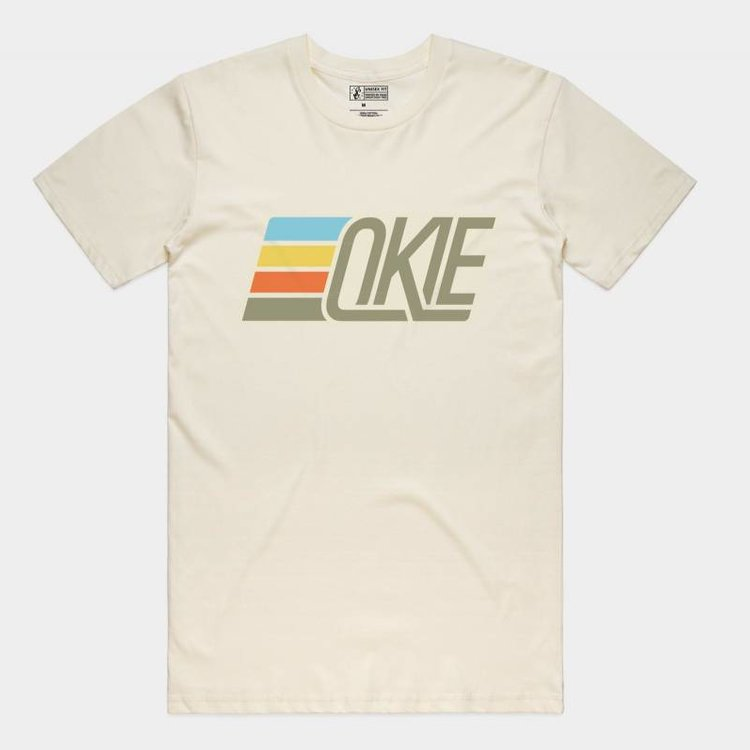 Shop Good Okie Track Tee Natural